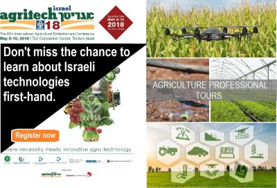 Professional agriculture tours during Agritech 2018