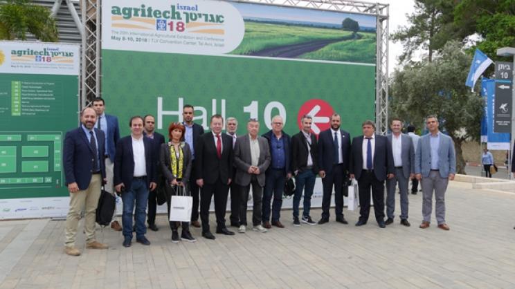 Greek-delegation-at-Agritech-Israel-2018