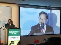 Mandalay Prime Minister Dr. Zaw Myint Maung at Agritech Israel 2018