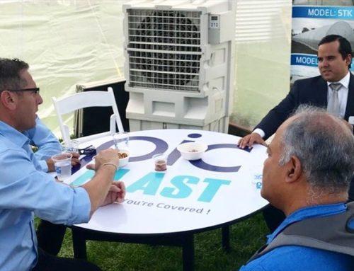 MIDA Minister Eduardo Carles spoke with Radio Panama from the Agritech fair in Israel (Panama)