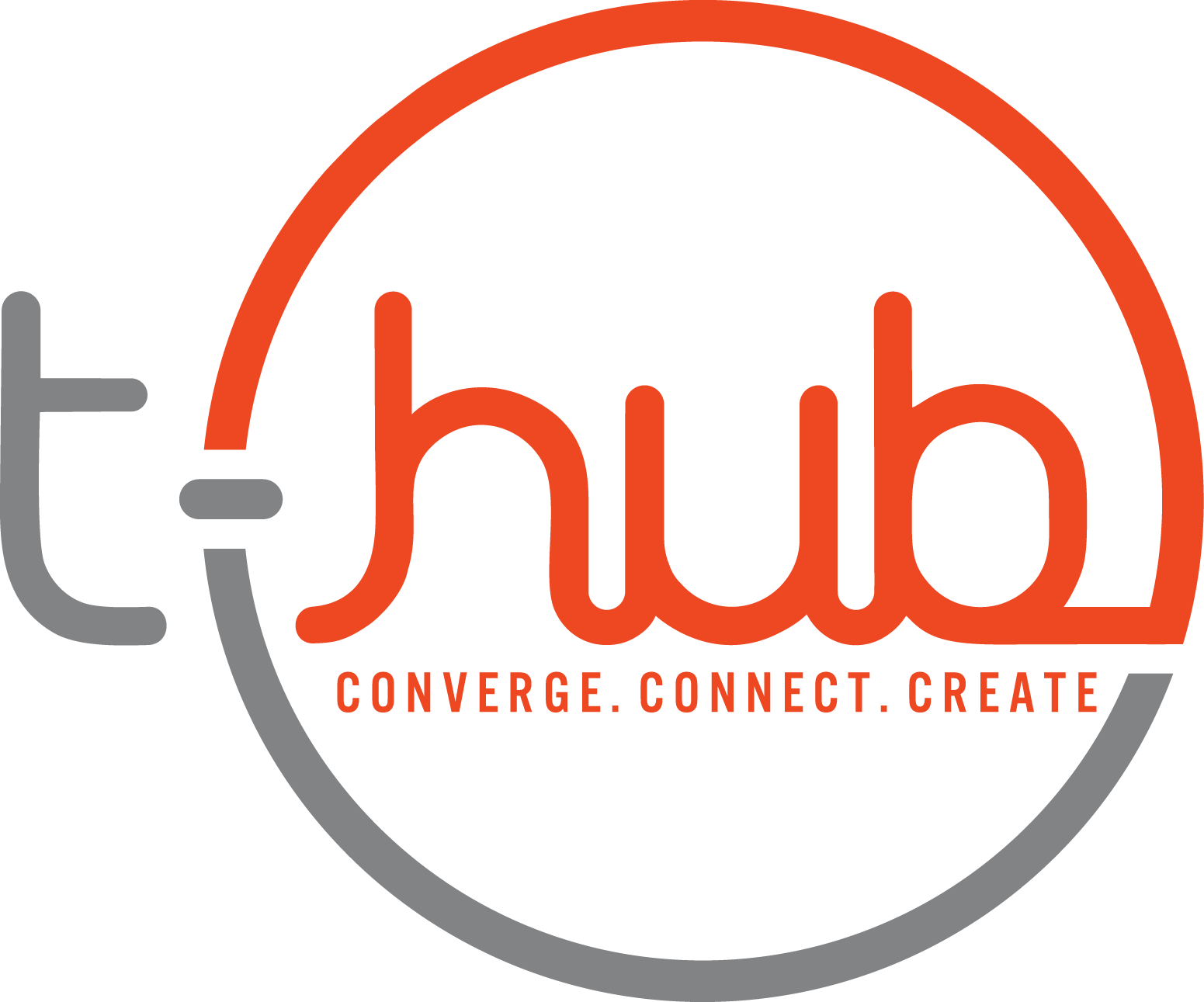 T Hub Logo Cyber Security Conference