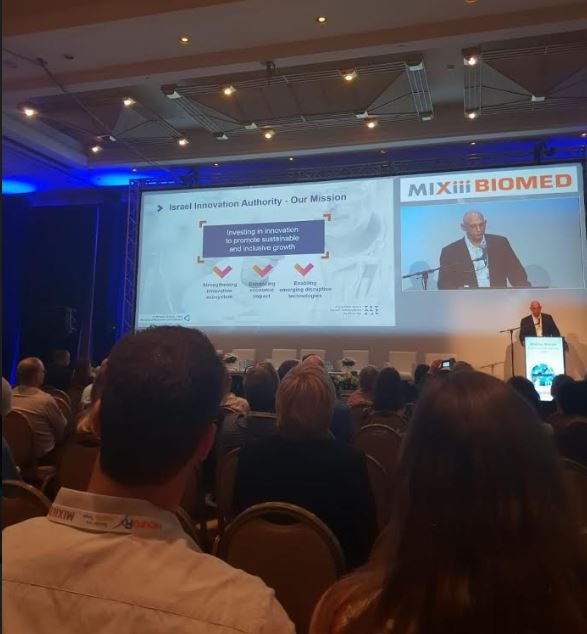 Aharon-Aharon,-CEO of the Israel Innovation Authority shares information on the Israeli life sciences industry-BIomed2018